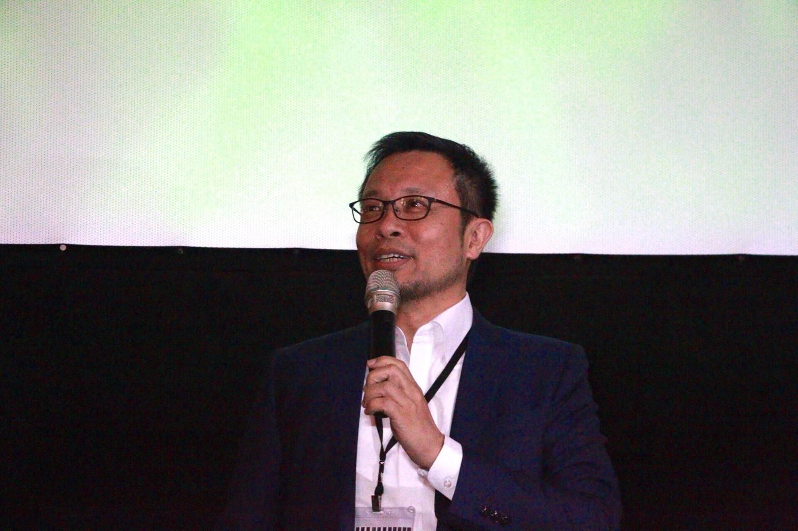 0519電影欣賞會,燃點公民平台蔡致中理事長發言。